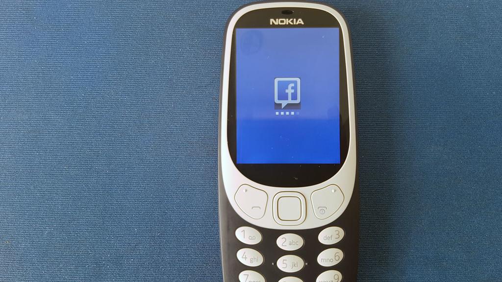 Facebook Nokia® 3310