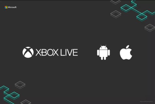 Microsoft revela Xbox Live para iOS℗ y Android, el cross-play se hace más fuerte