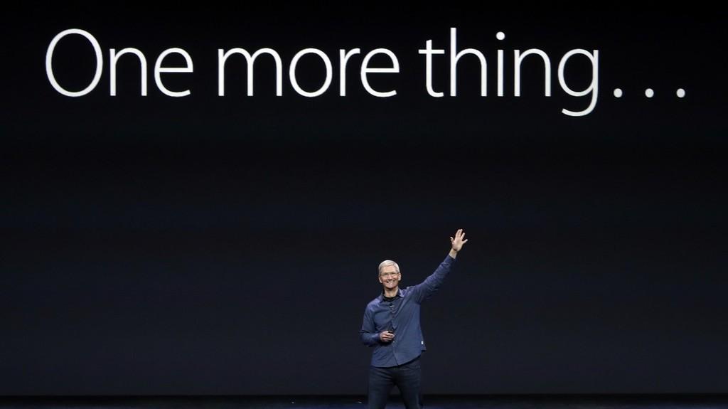 One more thing: cifrado, aplicaciones para iPad y malware de risa