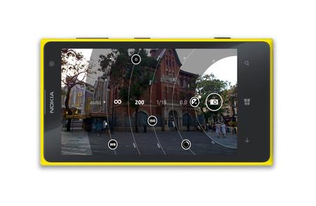 Nokia Lumia 1020 App Camara