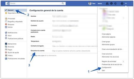 Borrar Cuenta Facebook