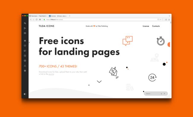 Permalink to Tilda Icons, descarga más de 700 iconos vectoriales gratis para uso personal y comercial