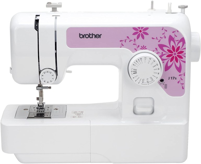 Brother J17s Sewing Machine, White, L