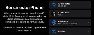 Cómo restablecer iOS 15 borrándolo todo y dejando el iPhone como recién comprado