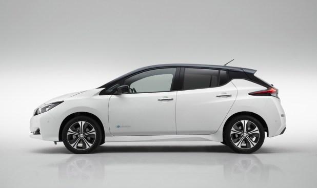 Nissan Leaf Perfil