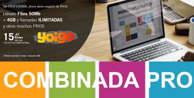 Nuevas Tarifas Combinada Pro De Yoigo℗ En Julio(mes) De 2017