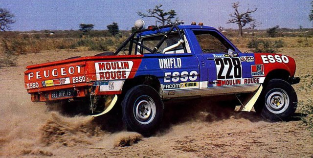 Peugeot Dangel 504 4x4 Dakar