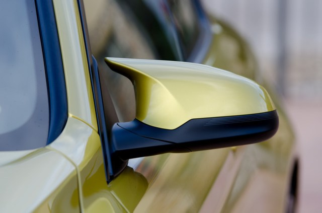 Retrovisor BMW M4. Foto: Chema Sanmoran.