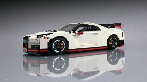 Lego Nissan Gt R Nismo 1