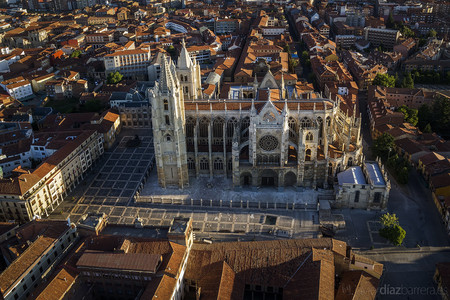 Catedral León altura