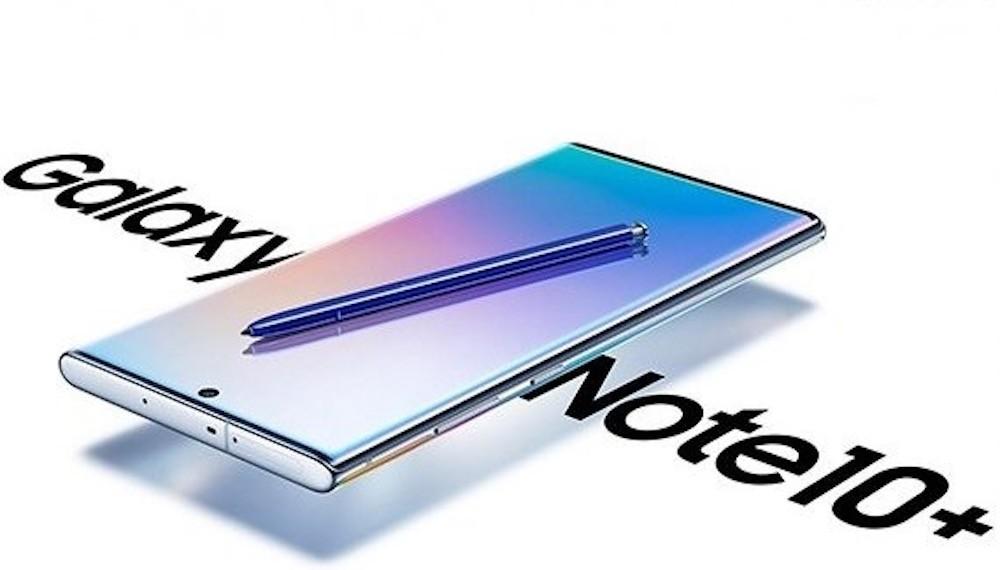 El nuevo Samsung Galaxy Note 10+ se filtra en todo su esplendor gracias a esta imagen cortesía de Evan Blass