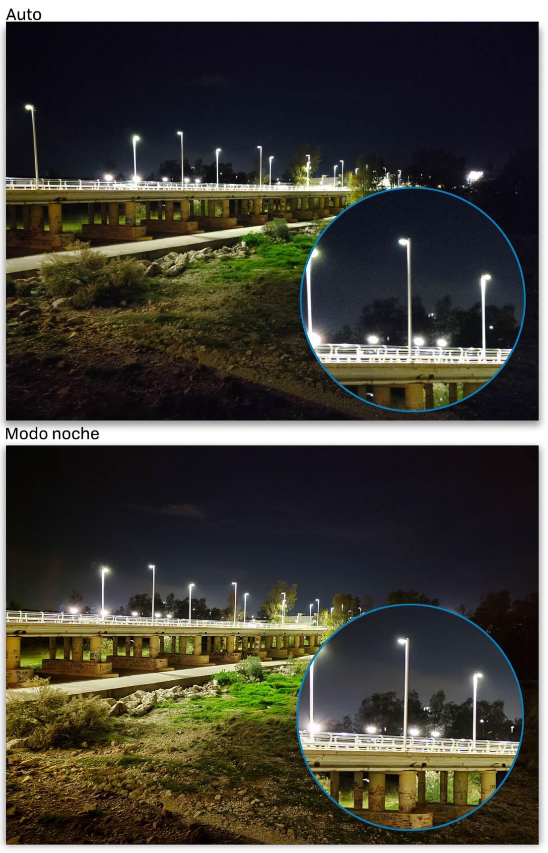 Realme 8 Pro Auto Noche 01