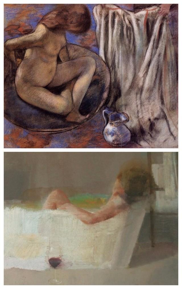 Collage Edgar Degas Alejandra