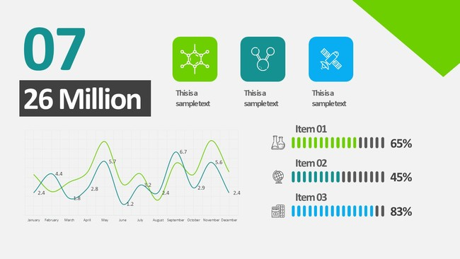 Animated Business Infographic Powerpoint Template 8