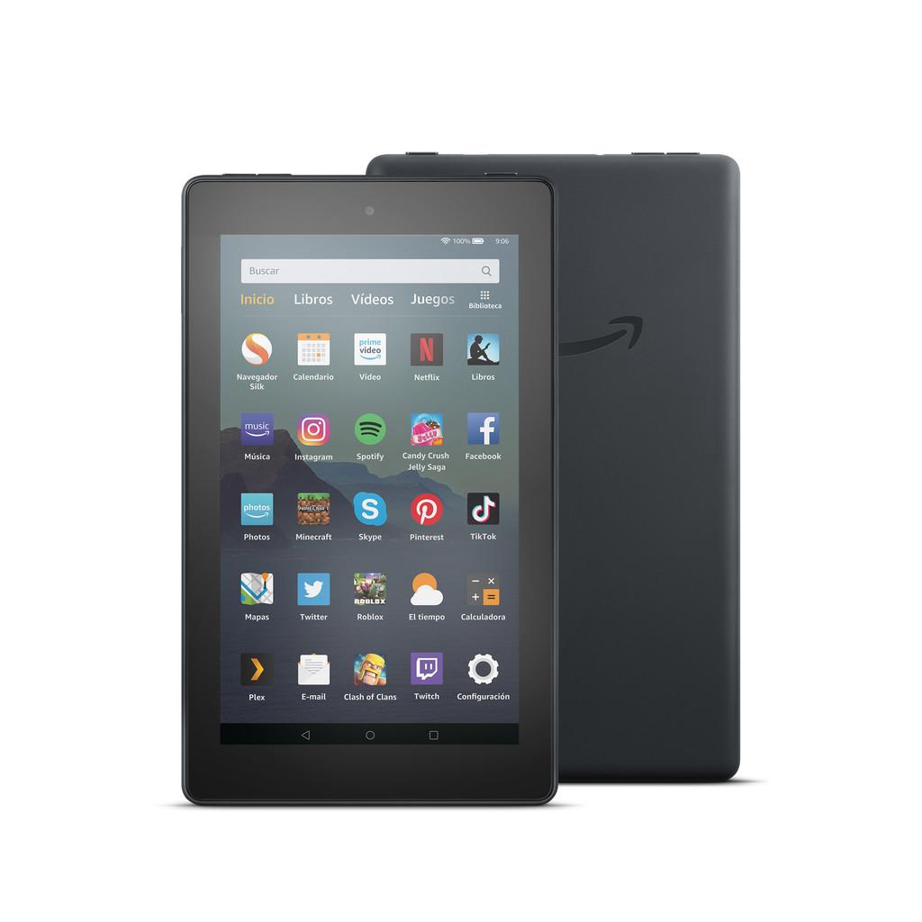Amazon Fire 7: la tablets mas económica de Amazon® mejora su procesador y duplica su almacenamiento