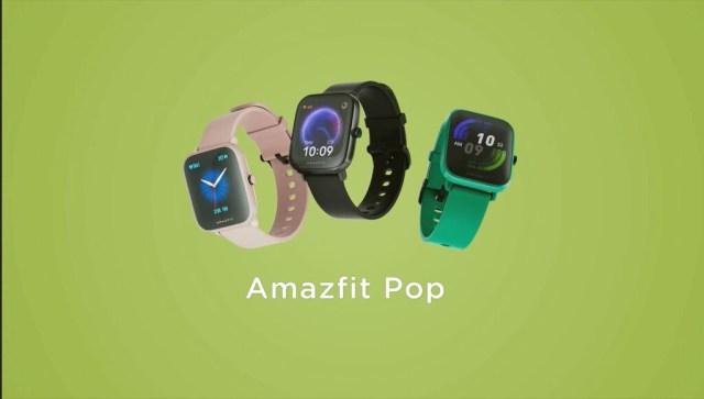 El Amazfit Bip Pop asoma en un vídeo promocional que deja visualizar su gran semejante con el Amazfit Bip U