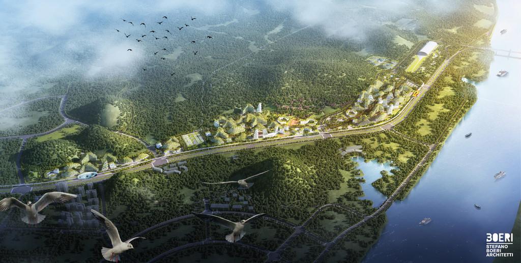 Stefano Boeri Architetti Liuzhou Forest City Birdview Copy