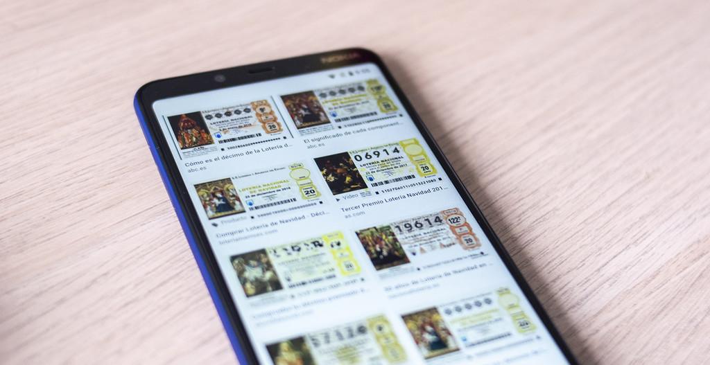 Cómo verificar los décimos de lotería premiados del Sorteo de Navidad 2018 desde el móvil