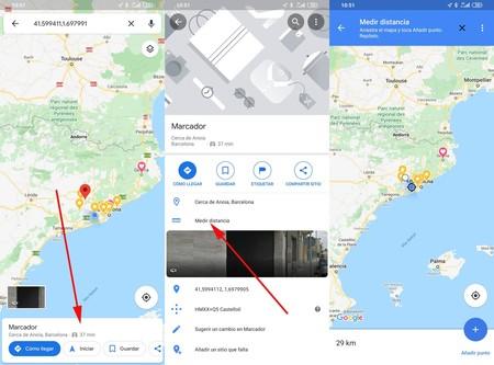 Medir Distancia Google Maps