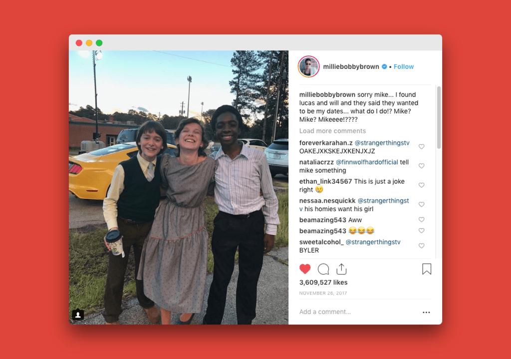 De cero a 17 millones, cómo aparecer en tu propia serie de Netflix hace que explote tu número de seguidores en Instagram