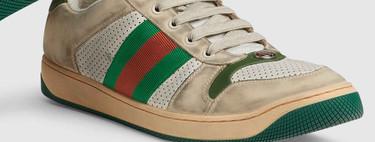 Viejas, sucias y por 768€: las nuevas zapatillas de Gucci están confundiendo a mucha gente