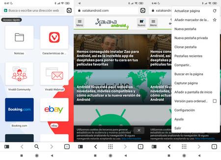 Android Beta Screenshots