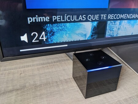 Volumen Fire Tv Cube