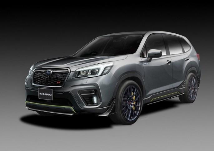 Subaru Forester STi concept e Impreza STI concept, listos para el Tokyo Auto Salon, en enero