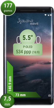 Nokia ocho Sirocco