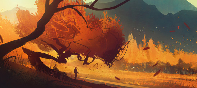 Bastien Grivet Autumn Out Again