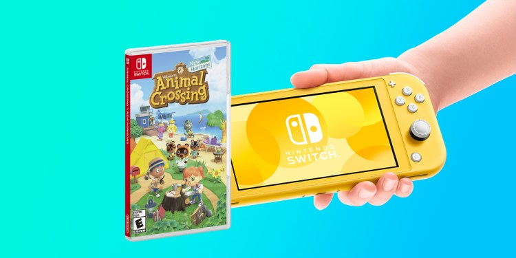 Save 50 euros on the Nintendo Switch Lite pack with the popular game Animal Crossing: New Horizons in MediaMarkt