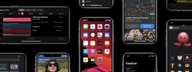 iOS 13 ya disponible: todas las novedades, dispositivos compatibles y pasos para actualizar tu iPhone