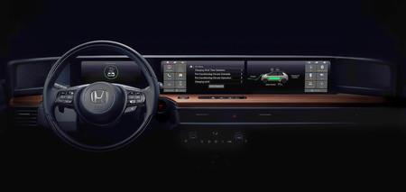 Honda Urban EV coche Electrico Interior