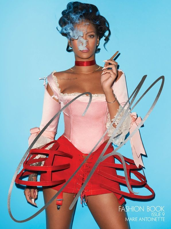 CR Fashion Book No.9 2: Rihanna