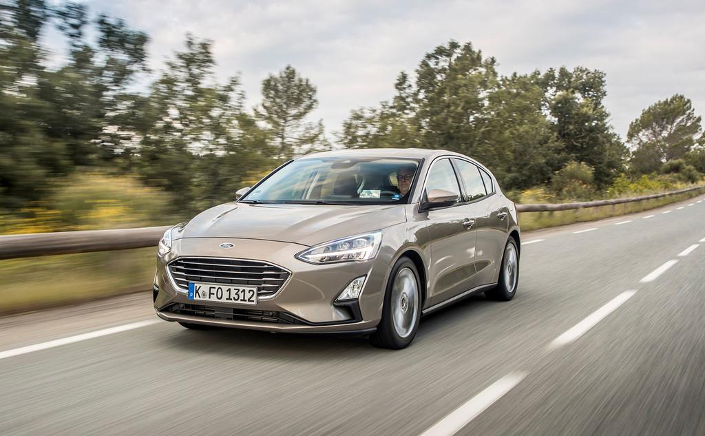 Ford anuncia sus primeros coches híbridos mild hybrid de 48 V basados en los superventas Ford Focus y Fiesta