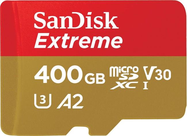 Extreme Microsd U3 A2 V30 400gb Hr