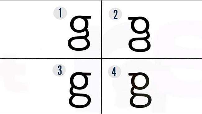 Permalink to Solo una de cada 16 personas sabe cómo es la letra 'g', ¿Cuál crees que es la correcta?