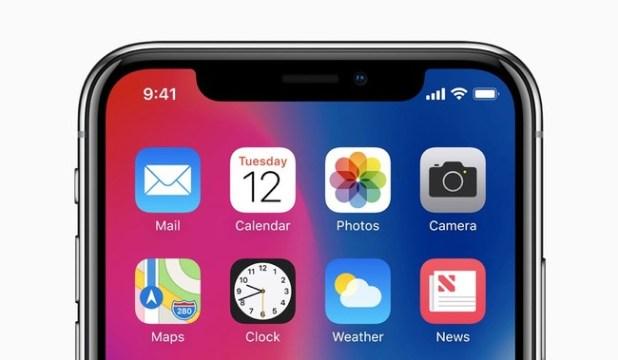 PEstaña iPhone X