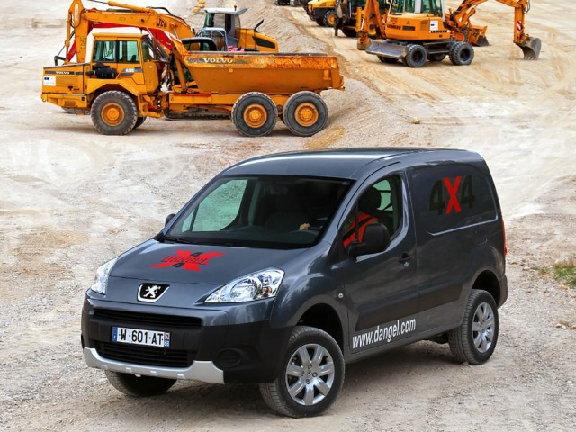 Peugeot Partner Tepee Van Dangel 4x4
