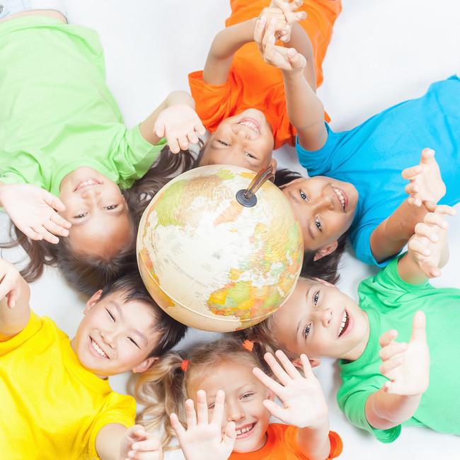 Los valores de la Paz para niños