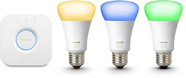 Kit de lámparas inteligentes de Philips
