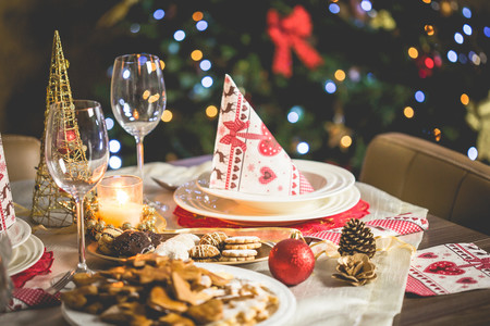 Vajilla Mesa Navidad