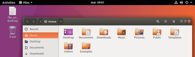 Ubuntu 17 10 Trash Icon On Desktop