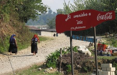 Cp Poster Announcing Road To Yitic In Los Altos De Chiapas