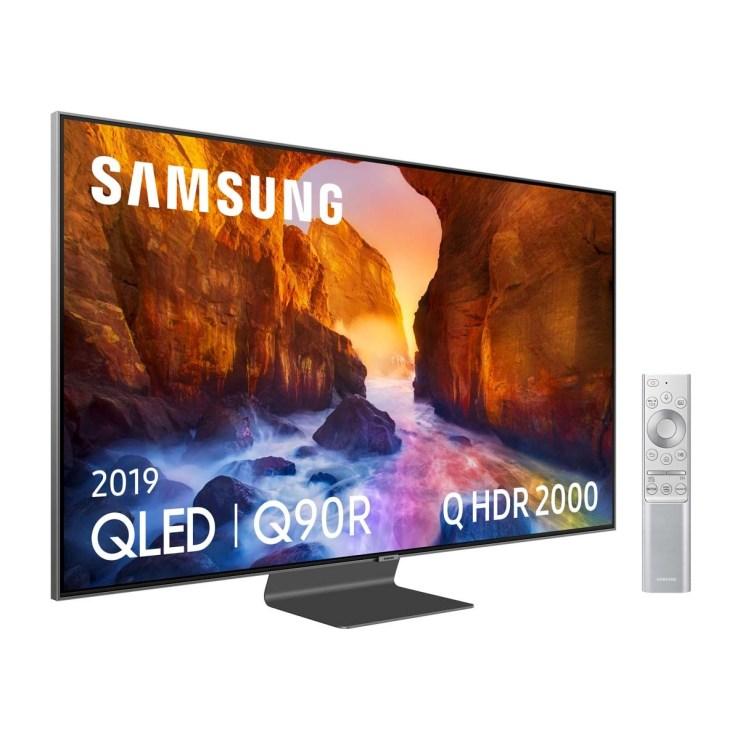 "TV QLED 138 cm (55"") Samsung QE55Q90R 4K con Inteligencia Artificial (IA), HDR y Smart TV"