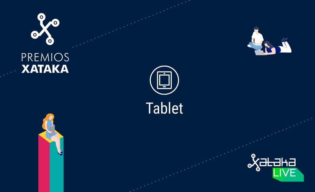 Mejor tablet: colabora en los Premios Xataka 2018
