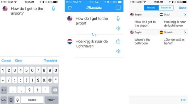 Itranslate Premium Iphone Screens