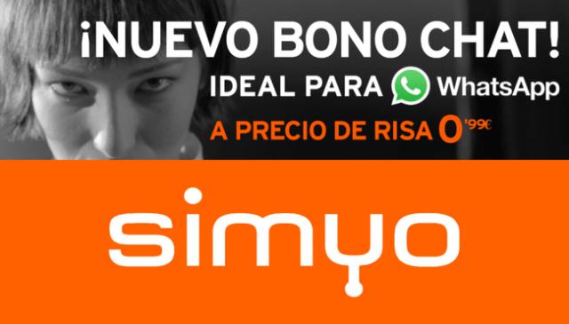Nuevo Bono Chat Para Whatsapp Y Telegram En Simyo
