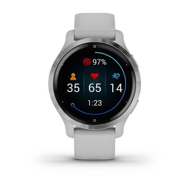 "Garmin Venu 2S Gray - 1.2"" AMOLED, 40mm, Garmin Pay, ABC Sensors, GPS, ANT + BT + WiFi"