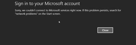 Windows 8 Error